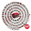 Einhell PRESSITO - Solo Power X-Change Akkus/Hibrid kompresszor (akku és töltő nélkül) (4020460)