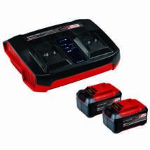 Einhell PXC induló készlet 2x 5,2Ah & Twincharger Kit (4512108)