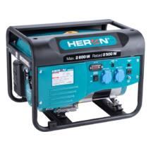 HERON benzinmotoros áramfejlesztő, max 2600 VA, egyfázisú (8896416)
