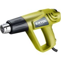 Extol craft hőlégfúvó, 2000W két fokozatú, 1000W/2000W; 350/550°C, 300/500 L/perc, 411013