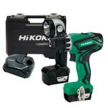 HiKOKI (Hitachi) DS10DAL Akkus fúró-csavarozó 10,8V, 2 x 1,5Ah akksi, lámpával kofferben DS10DAL