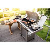 G21 California BBQ Premium line grill, 4 égőfej + ajándék nyomáscsökkentő GAH-3ED