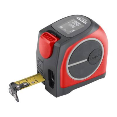 FORTUM lézeres távolságmérő mérőszalaggal, 40 m / 5 m×19 mm, lézer pontoság: 2 mm, /4780275/