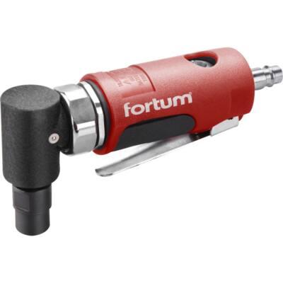 """Fortum pneumatikus furatköszörű, derékszögű, 125 mm,1/4""""; (6 és 3 mm bef), 20.000 1/min, 127 l/min, 6,3 Bar, 1/4"""" csatl. (4795036)"""
