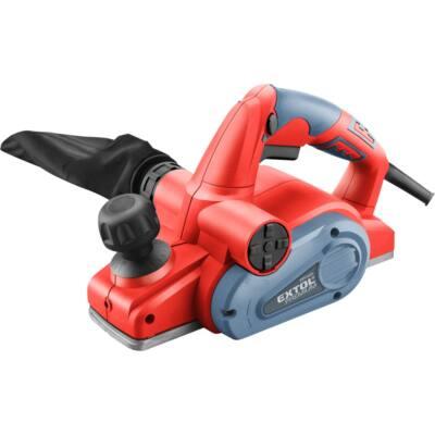 Extol premium gyalugép 710W, 16.500 1/perc, kés: 82mm, mélység: 0-2,0 mm, falcolás: 0 -7,0 mm (8893404)