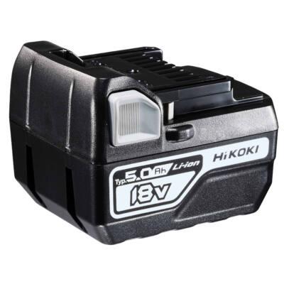 HiKOKI (Hitachi) 376029 Csúszótalpas lítium-ion akku 18 V, 5.0Ah / BSL1850C