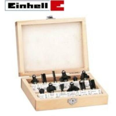 Einhell Felsőmaró Készlet 12db-os (fa dobozban) FS 12 (4350199)