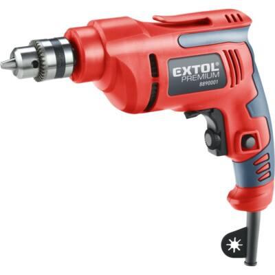 Extol premium fúrógép 450W, 0-2800 ford/perc, kulcsos tokmány, 1,0-10mm, 1,6 kg papír dobozban, 8890001