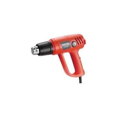 Extol premium hőlégfúvó pisztoly, 2000W, 2 fokozatú: I.50-450 °C / II.90-600°C, 8894801