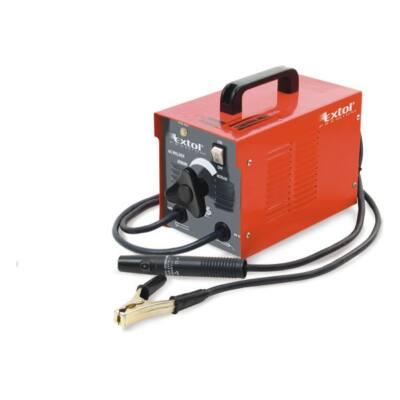 Extol Prémium hegesztőtrafó, 130A, 2-3,2mm pálcaméret, kábellel,pajzzsal, hűtőventilátorral 8896001