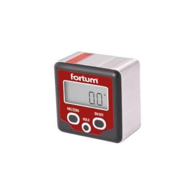 Fortum digitális szögmérő, mérési tartomány: ±180° (0°-360°), pontosság: ±0,1°, felbontás: 0,1° FORTUM)