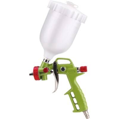 Extol craft festékszóró pisztoly légkompresszorhoz, 700ml műanyag tartály, 1,5mm szórónyílás, 99314