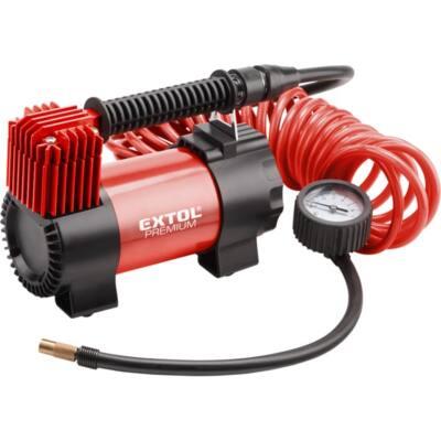 Extol premium olajmentes légkompresszor, 12V, 10,3 Bar, 35 l/perc, 8864001