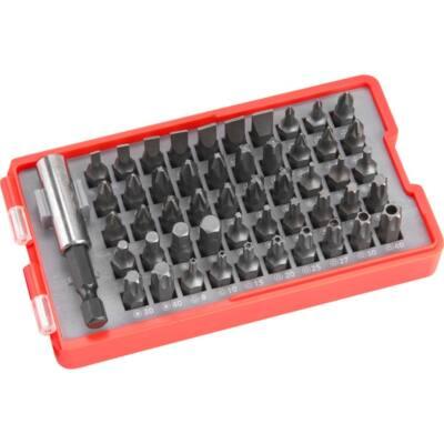 Extol behajtó készlet, 20 db C.V., lapos:3-6, PH1-3, PZ1-3, HEX 4-6mm, T10-40, 8819640