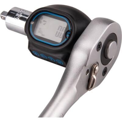 """Extol premium digitális nyomaték adapter, hangjelzéssel, 1/2"""", 20-200Nm, adapterek: 1/4""""és 3/8"""", 8825300"""