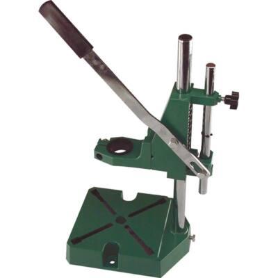 Extol Craft fúrógépállvány; fém, 38 és 43 mm befogás, teljes magasság: 420 mm, max. fúrási mélység: 60 mm, 80369