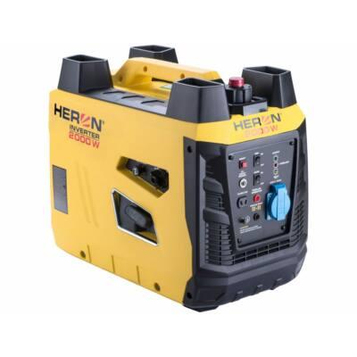 Heron benzinmotoros áramfejlesztő, 2 kVA, 230V, digitális szabályzású (8896219)