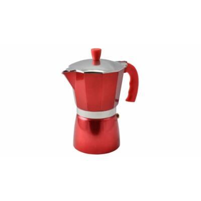 Perfect Home 10062 kotyogós kávéfőző piros 6 személyes