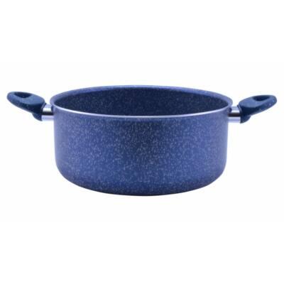 Perfect Home 12589 Tapadásmentes bevonatos lábas kék márványos 26 cm