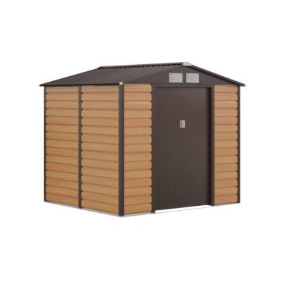 G21 GAH 407 - 213 x 191 cm-es kerti fém ház, barna