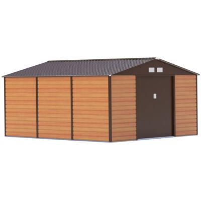 G21 GAH 1300 - 340 x 383 cm kerti ház, fém, barna
