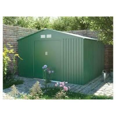 G21  GAH 905 - 311 x 291 cm-es kerti fém ház, zöld