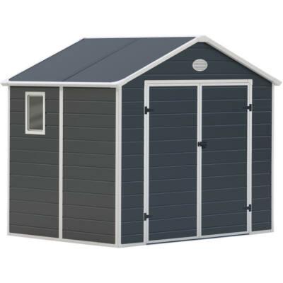 G21 PAH-523 kerti ház, kerti tároló,  188 x 278 cm, szürke, műanyag