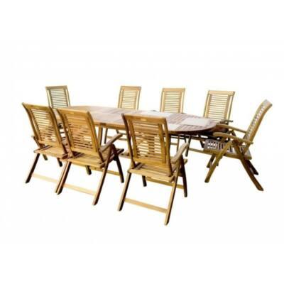 HECHT ROYAL - 8 személyes kerti bútor garnitúra (akácfa)