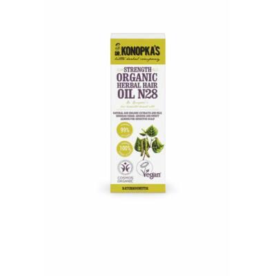Dr. Konopka's N28 Növényi hajolaj, vékony szálú hajra 30ml