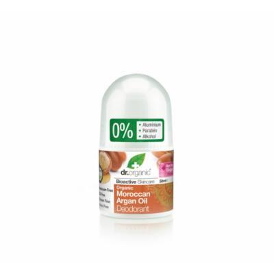 Dr. Organic alumíniummentes golyós dezodor bio argán olajjal 50 ml