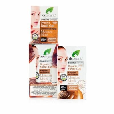 Dr. Organic Bio csigagél arcpakolás intenzív hidratáló, öregedésgátló hatással 10 ml