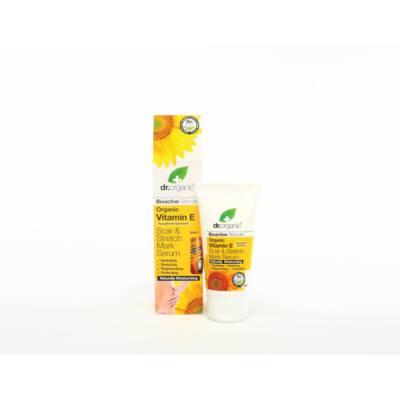 Dr. Organic Bio E vitaminos Szérum hegek és terhességi csíkok ellen 50 ml