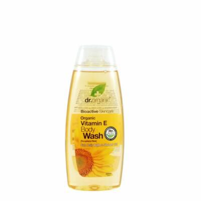 Dr. Organic Bio E vitaminos Tusfürdő  250 ml