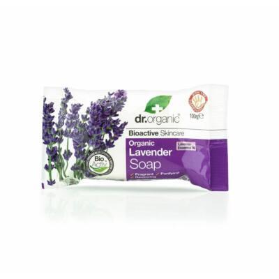 Dr.Organic Bio levendula Szappan 100 g