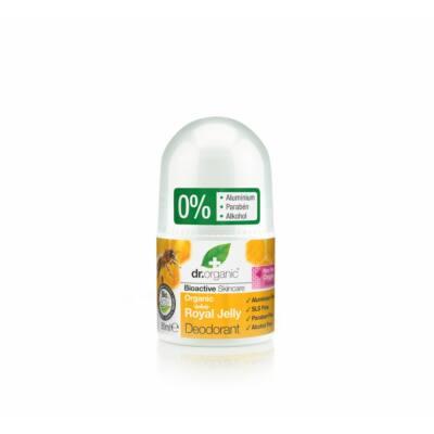 Dr. Organic alumíniummentes golyós dezodor bio méhpempővel 50ml