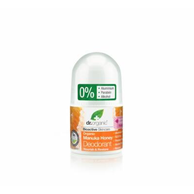 Dr. Organic alumíniummentes Golyós dezodor bio manuka mézzel 50 ml