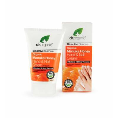 Dr. Organic Bio manuka mézes Kéz- és körömápoló 125 ml
