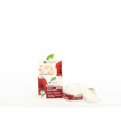 Dr. Organic Bio rózsa Nappali krém Bio damaszkuszi rózsával 50 ml