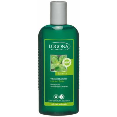 Logona Bio Citromfű sampon zsírosodó hajra, érzékeny fejbőrre 250 ml