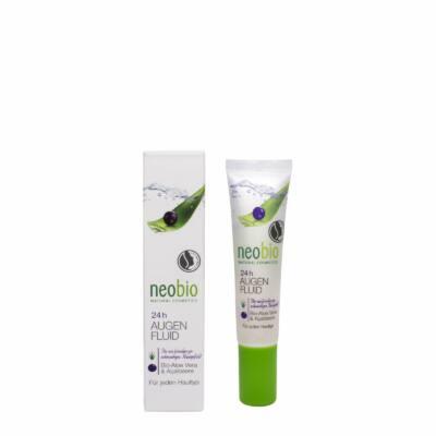 Neobio 24 órás Szemkörnyékápoló bio Aloe verával és akaibogyóval 15ml